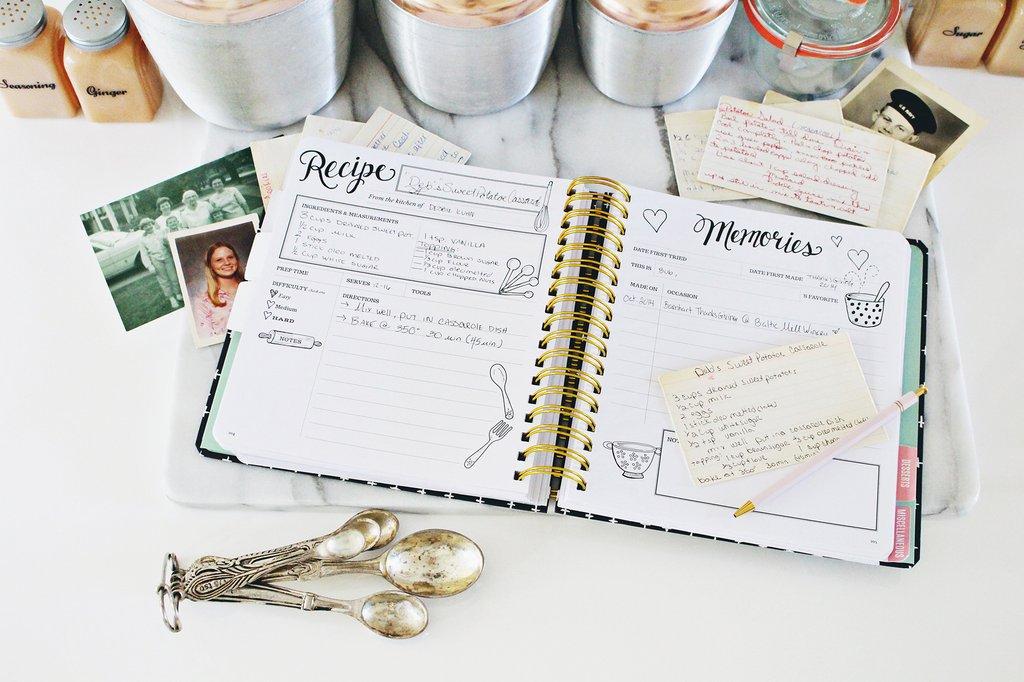 Keepsake Kitchen Diary