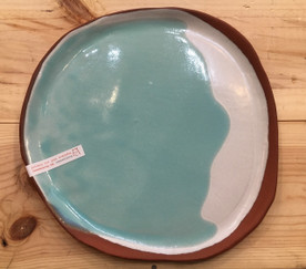 Extra Large Glazed Ceramic Dish