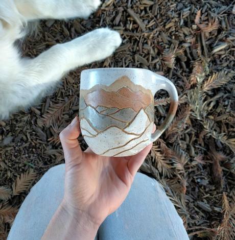 Rust Mountain Mug