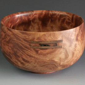 Jerry Kermode Redwood Bowl - Traditional Calabash