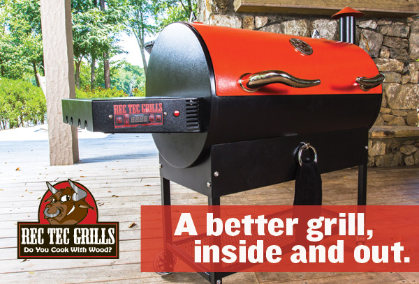 A better grill, inside and out.