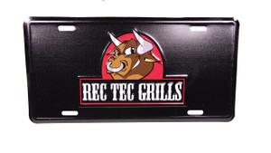 REC TEC Grills License Plate