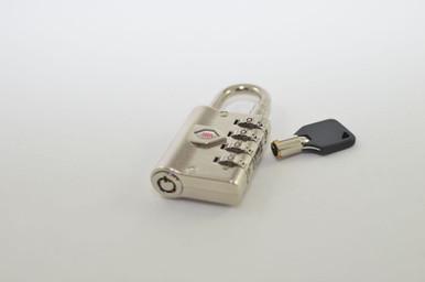 Combination Padlock w/Key