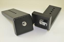 Refrigerator Lock - Black