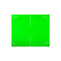 1136 Flourescent Green Labels