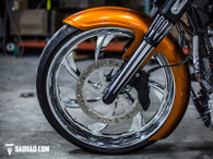 """COMPETITION SERIES 23"""" WRAP FRONT FENDER"""