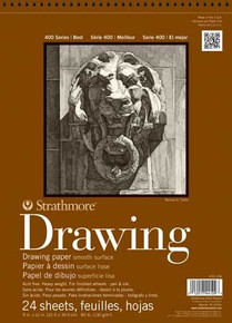 Strathmore Drawing Paper Pad 14x17 Smooth Surface