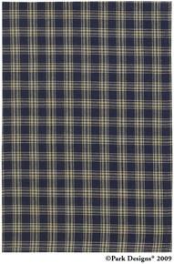 Sturbridge Navy Dish Towel
