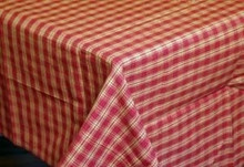 "Sturbridge Wine Tablecloth 54"" x 54"""