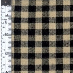 Black/Natural Rustic Woven Fabric 807952020595