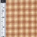 Tan/Cream Rustic Woven Fabric