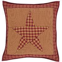Quilted Pillow-Ninepatch Star-16x16-VHC