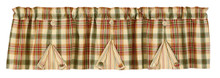 Valance- Lemon Pepper- Lined Button Pleat- 60x14