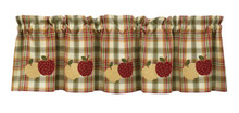 Valance- Lemon Pepper- Apple- Lined- 60x14