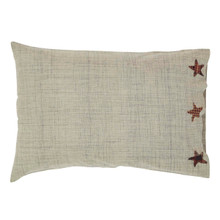 Pillow Case (Set of 2)- Abilene Star- 21x30- Victorian Heart