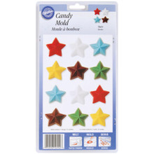 12 Stars Candy Mold