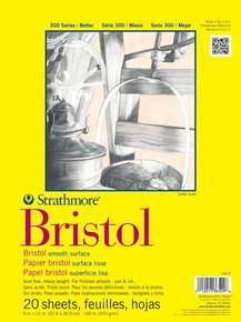 Strathmore Bristol Student Grade Pad 14x17 Smooth Surface