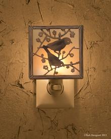 Backyard Birds Night Light