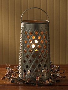 Cheese Grater Lamp