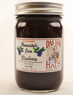 Homemade Sugarless Blueberry Jam | Das Jam Haus in Limestone, Tennessee