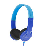 KidJamz Safe Listening Headphones for Kids with Volume-Limiting Technology (Blue)