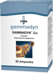 Gammadyn Cu (Copper) - 30 unidoses By UNDA