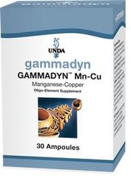 Gammadyn Mn-Cu - 30 unidoses By UNDA
