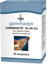 Gammadyn Zn-Ni-Co - 30 unidoses By UNDA