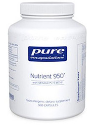 Nutrient 950 by Pure Encapsulations 180 Capsules