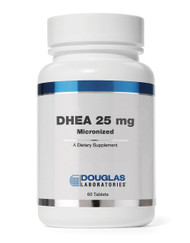 DHEA 25 mg Micronized by Douglas Laboratories 60 Tablets
