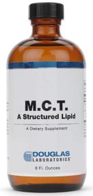 M.C.T. A Structured Lipid by Douglas Laboratories 8 Fluid Ounces