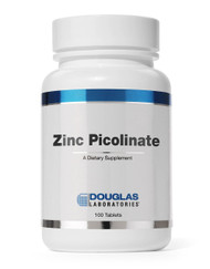 Zinc Picolinate by Douglas Laboratories 20mg 100 Tablets