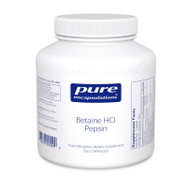 Betaine HCl Pepsin - 250 capsules by Pure Encapsulations