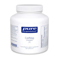 Calcium Magnesium (malate) 2:1 - 180 capsules by Pure Encapsulations