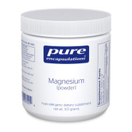 Magnesium (powder) - 107 grams by Pure Encapsulations