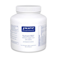 Nutrient 950® without Cu, Fe & Iodine - 180 capsules by Pure Encapsulations