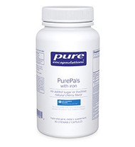 PurePals (with iron) - 90 chewable tablets by Pure Encapsulations