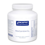 RiboCarnitine-Q10 180's - 180 capsules by Pure Encapsulations