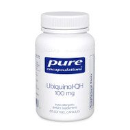 Ubiquinol-QH 100 mg 60's - 60 capsules by Pure Encapsulations
