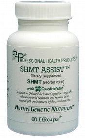 SHMT Assist from Professional Health Products ( PHP ) 60 DRcaps