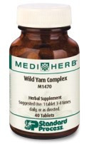 Wild Yam Complex from MediHerb 40 Tablets