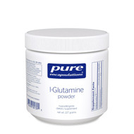 * l-Glutamine is the most abundant amino acid in the body. In times of metabolic stress, glutamine is utilized by the body for tissue repair, gastrointestinal tract support, and natural defense system function. Glutamine plays a large role in maintaining healthy intestinal integrity by enhancing the intestine's protective mucosal lining. In addition, glutamine is important in the preservation of muscle mass.