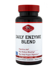 Enzyme Blend  By Olympian Labs - 60 Capsules