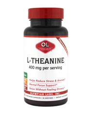 L-Theanine 400 Mg By Olympian Labs - 60 Capsules