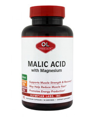 Malic Acid 500 Mg By Olympian Labs - 90 Capsules