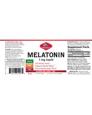 Melatonin 1 mg Liquid By Olympian Labs 2 oz