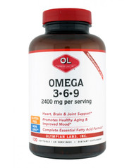 Omega 3-6-9 2400 Mg By Olympian Labs - 120 SG