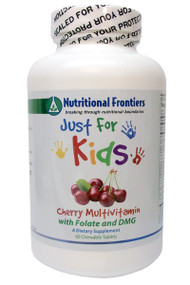 Just for Kids Multi Cherry by Nutritional Frontiers 60 Tablets