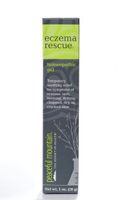 Eczema Rescue® contains homeopathic ingredients to soothe and heal skin eruptions associated with types of dermatitis. This topical remedy also includes natural herbs for skin-softening properties.  Natural, non-greasy, and paraben free formula Powerful and fast-acting Eczema Rescue Ingredients:  Active Ingredients: Carbolicum Acidum 30X, Fagopyrum Esculentum 30X, Hydrastis Canadensis 30X, Hydrocotyle Asiatica 30X, Juglans Regia 30X, Vinca Minor 30X  Other Ingredients: Aloe Vera Concentrate, Arnica Flower, Avocado Oil, Bloodroot Root, Calendula Flower, Chaparral Leaf, Comfrey Leaf, Kukui Nut Oil, Macadamia Nut Oil, Natural Plant Extract, Neem Leaf, Olive Oil, Poke Berry, Poke Root, St. John's Wort Aerial Parts, and White Willow Bark.