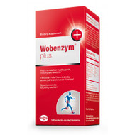 Wobenzym Plus by Mucos Pharma 480 Tablets